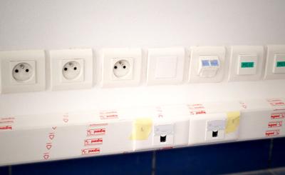 Protection électrique, installation de circuits ondulés