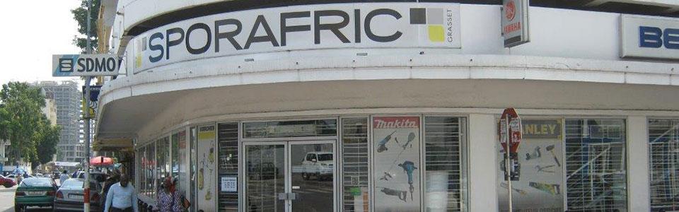 Notre magasin à Brazzaville